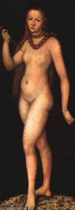 lucretia de Lucas Cranach The Elder (1472-1553, Germany)