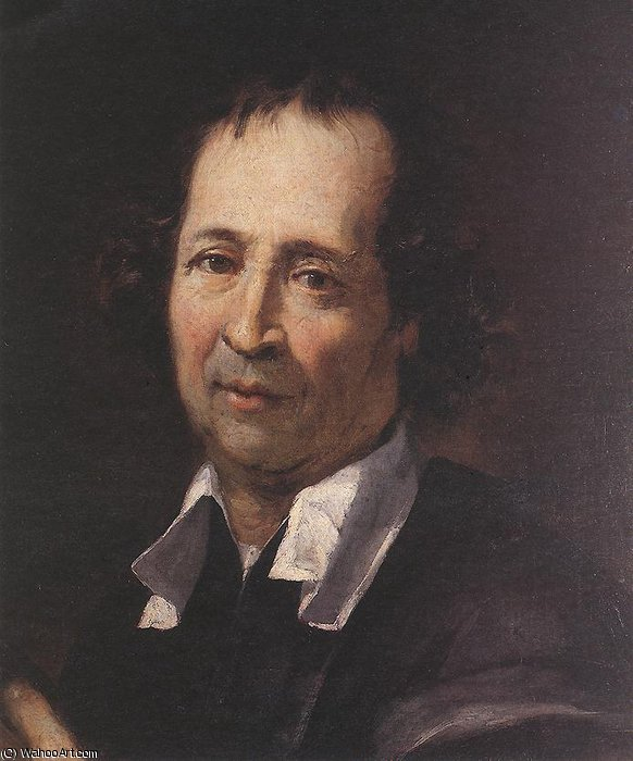 Autoportrait de Pierre Puget (1620-1694, France)