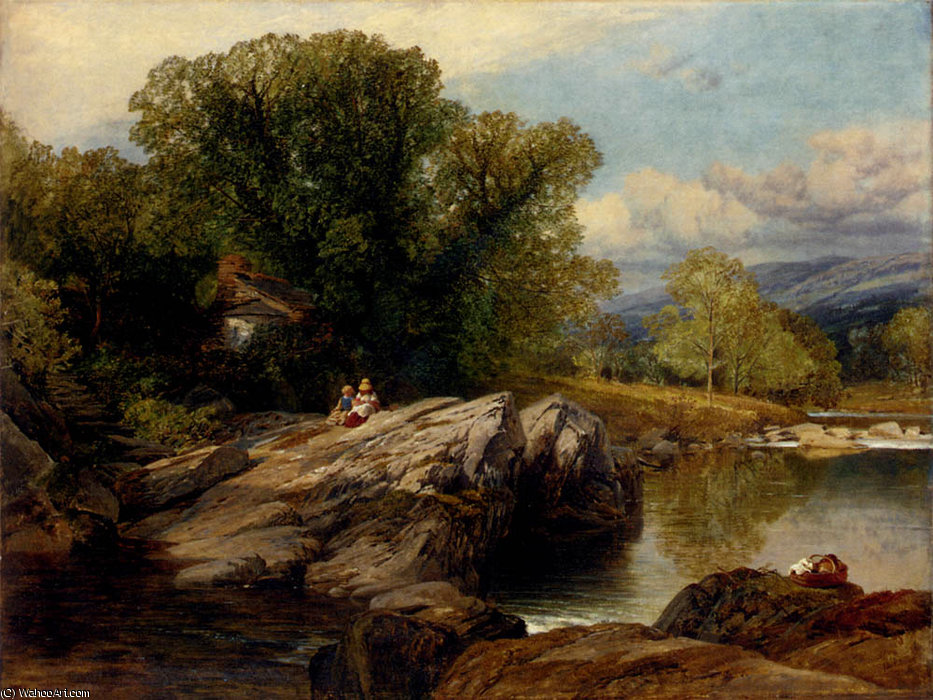Bettws y Coed de Frederick William Hulme (1816-1884, United Kingdom)
