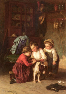 Theophile Emmanuel Duverger - L animal malade