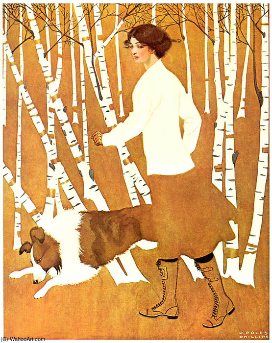 Untitled (647) de Coles Phillips (1880-1927, United States)