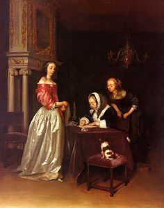 Gerard Ter Borch The Youn.. - Curiosité , métropolitain..