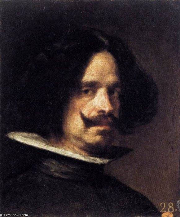 Autoritratto, 1640 de Diego Velazquez (1599-1660, Spain)