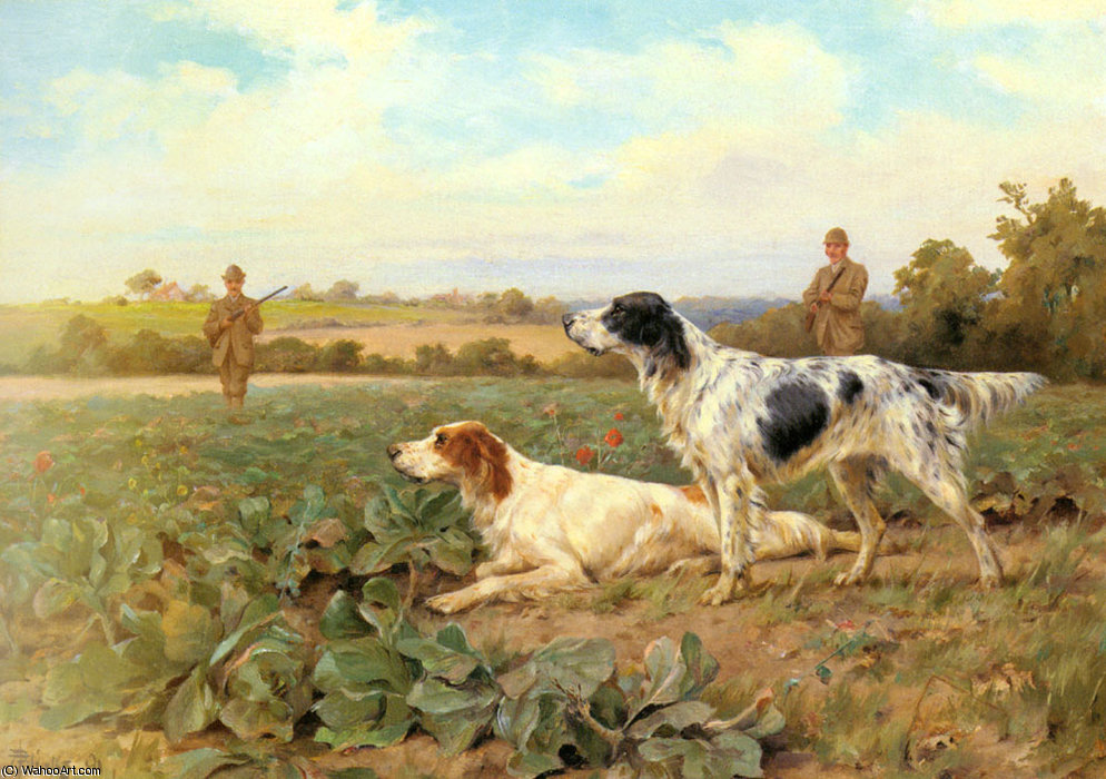 Sur le terrain, la prise de vue de Thomas Blinks (1860-1912, United Kingdom)
