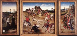 Dieric Bouts - St hippolyte triptyque