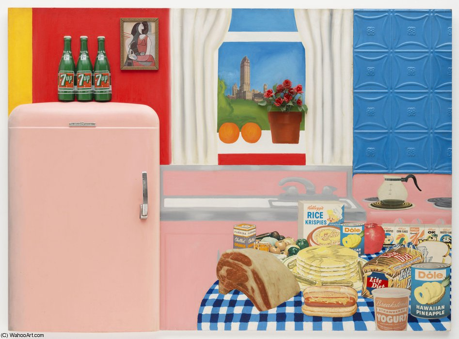 Nature Morte 30   de Tom Wesselmann (1931-2004, United States)
