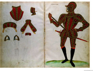 Jacobe Halder - Costume de armure pour lord co..