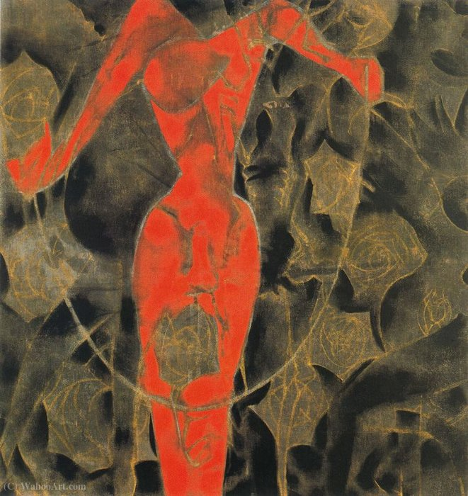 Untitled (641) de Francesco Clemente