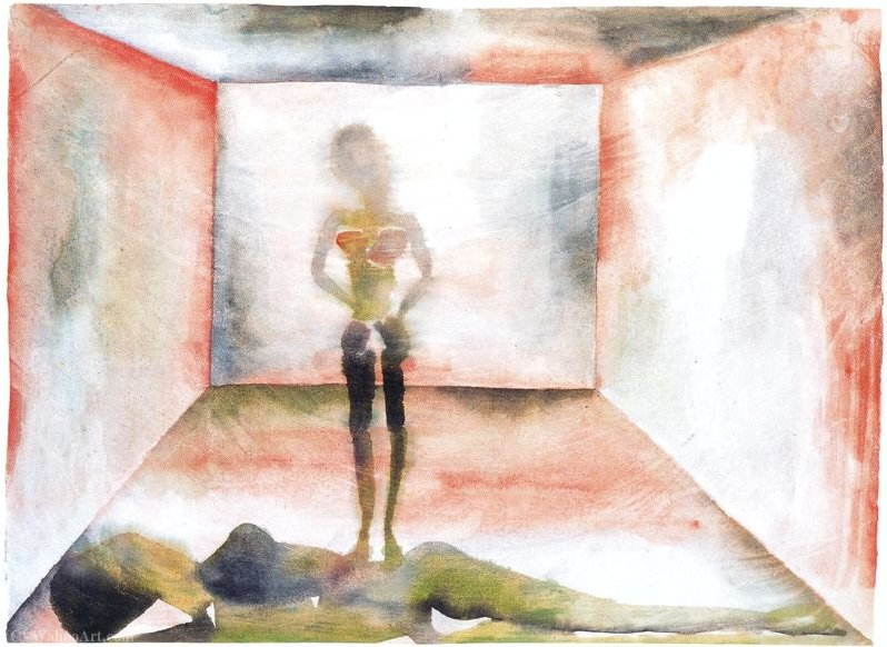 Untitled (508) de Francesco Clemente