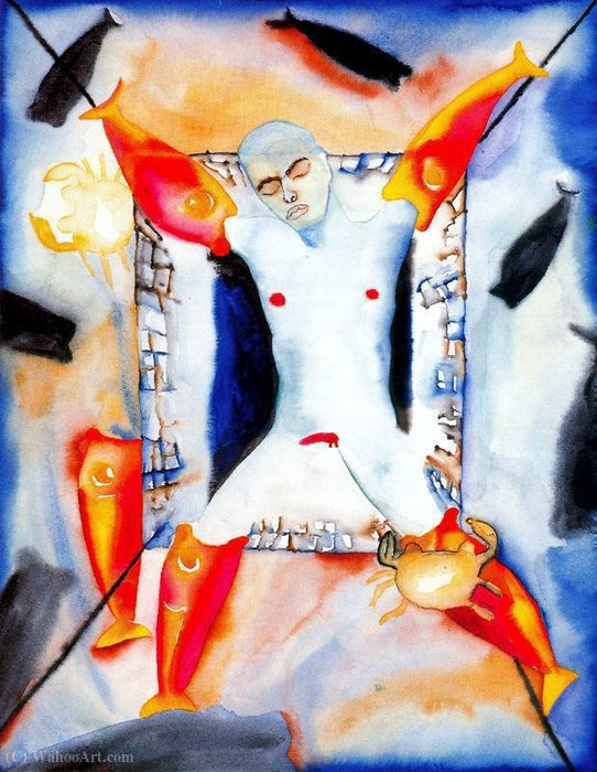 Untitled (888) de Francesco Clemente | ArtsDot.com