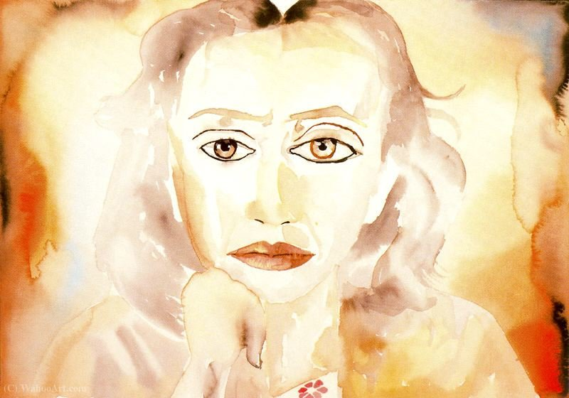 Untitled (819) de Francesco Clemente