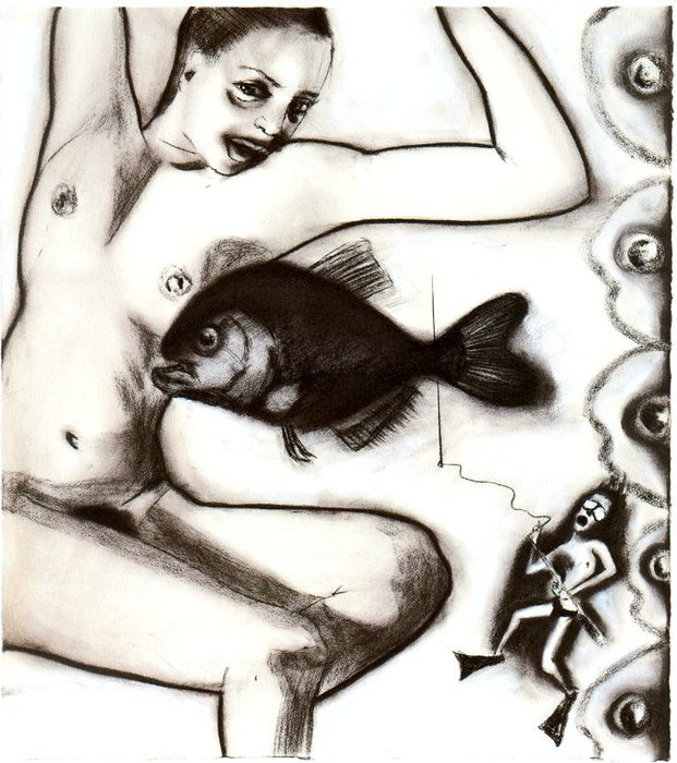 Untitled (988) de Francesco Clemente