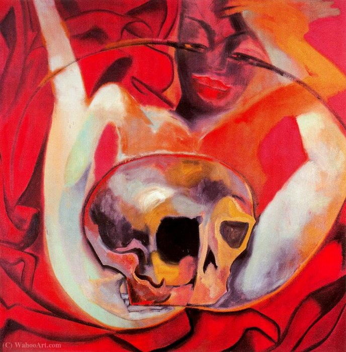 Untitled (225) de Francesco Clemente