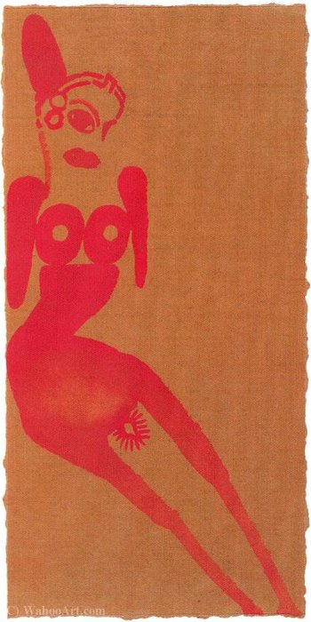 Untitled (185) de Francesco Clemente