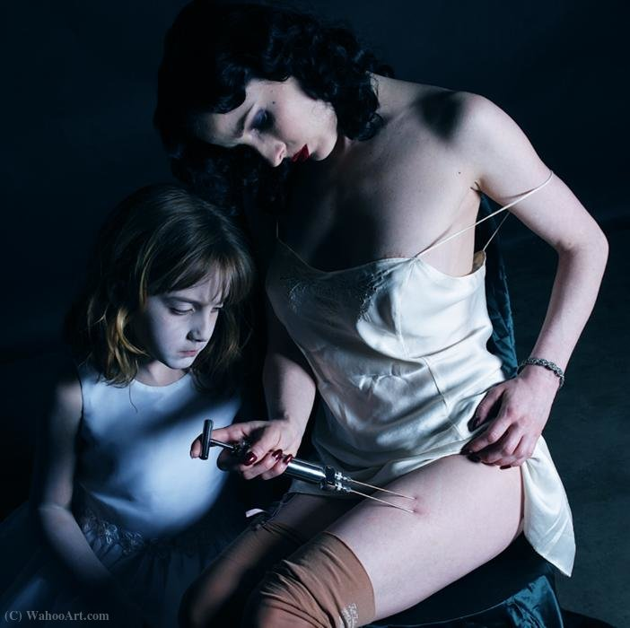 Untitled (479) de Gottfried Helnwein | Reproductions D'art Sur Toile | ArtsDot.com