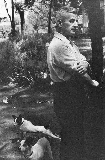 William Faulkner 1,947 de Henri Cartier-Bresson (1908-2004, France)