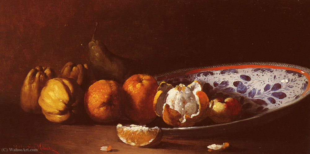 Nature morte aux fruits de Germain Ribot