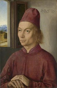 Dieric The Younger Bouts - Portrait d un homme
