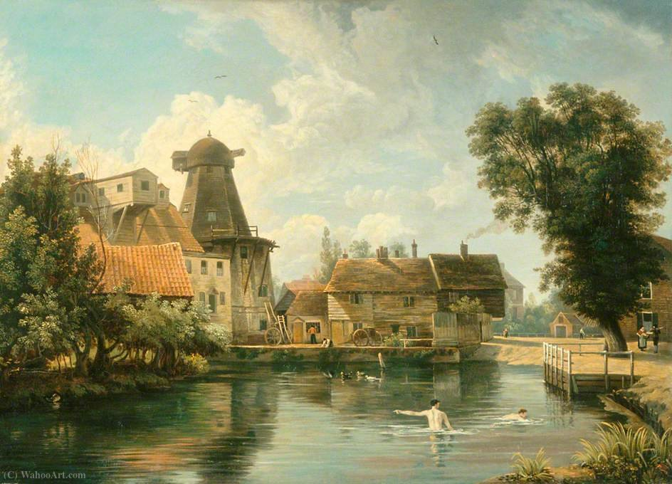 Un millpool Norfolk de George Vincent (1796-1831, United Kingdom)