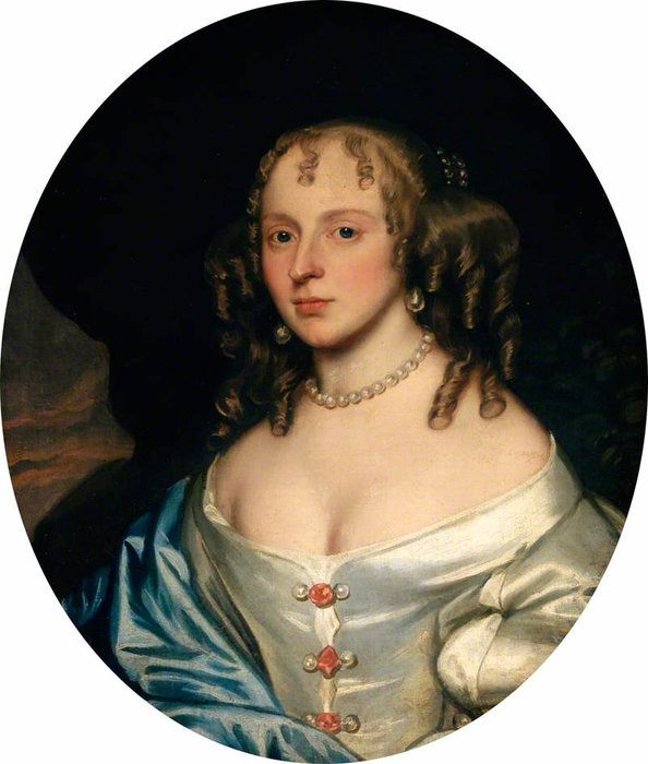 Lady Byrne, née Warren de Gerard Soest (1600-1681, Germany)