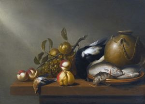 Harmen Steenwijck - Nature morte de fruits, p..