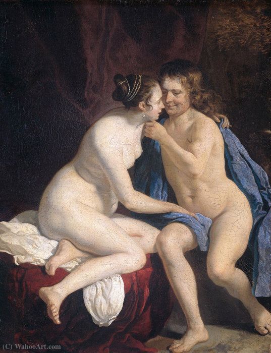 Lovers. de Jacob Van Loo (1614-1670, Netherlands)