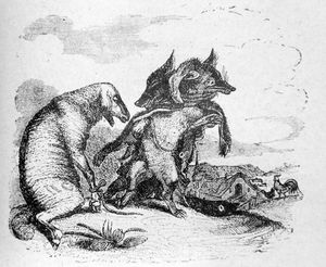 Jean Jacques Grandville - Illustrations de Fables de La ..