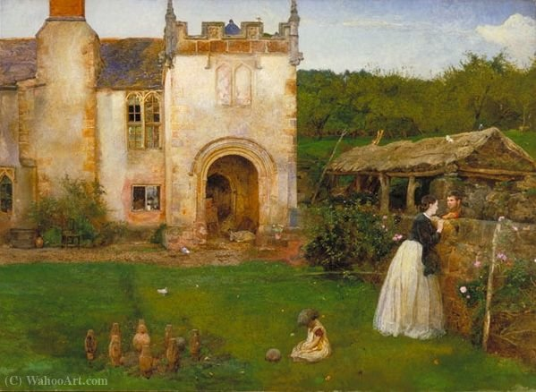 L ancien terrain de boules de John William North (1842-1924, United Kingdom)