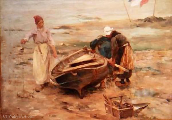 Fisherwives écossais de Robert Mcgregor (1847-1922, United Kingdom) | ArtsDot.com