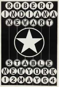 Robert Indiana - Art nouveau new york stab..