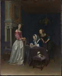 Gerard Ter Borch The Youn.. - curiosité