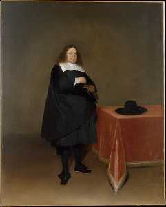 Gerard Ter Borch The Youn.. - maire jan van düren  1613..