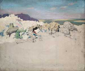 William Newenham Montague Orpen - beaumont hamel