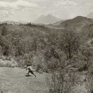 Rosalind Fox Solomon - running boy , Guatemala
