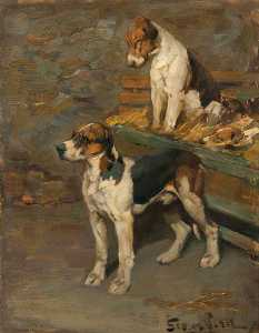 George Pirie - Foxhounds