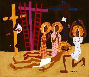 William Henry Johnson - Lamentation