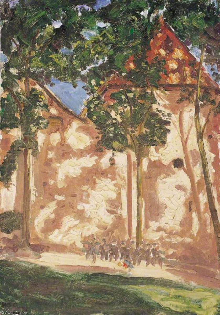 arbres et ombres, 1928 de Winston Spencer Churchill (1874-1965) | Reproduction Peinture | ArtsDot.com