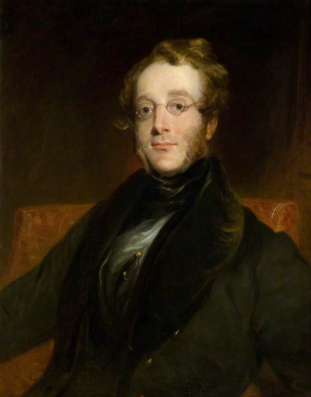 frederic william macaulay ( 1801–1839 ), 1826 de Richard Rothwell | Reproductions De Qualité Musée Richard Rothwell | ArtsDot.com