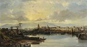 William Muir - girvan by morning Lumière
