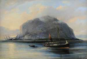 William Muir - ailsa craig avec clan cam..