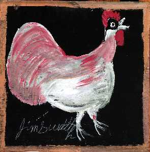Jimmy Lee Sudduth - sanstitre poulet