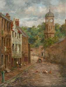 William Wright - castle wynd et tolbooth