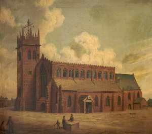 William Shuttleworth - église de r Marie , Stock..