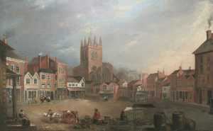 William Shuttleworth - Stockport marché lieu , C..