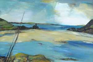 Margo Maeckelberghe - sand bar , Scilly