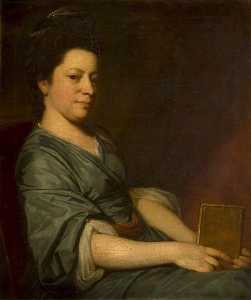 George Romney - mme thomas Rackett ( c . 1734–1800 )