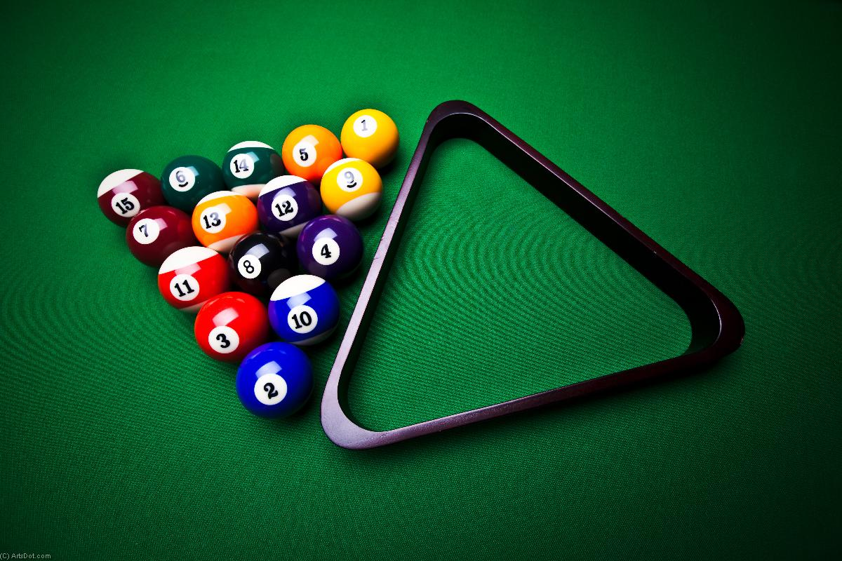 Billard 11 - amusement - Photos - Billard (AC73NJ) | Poster Encadré Photos | ArtsDot.com
