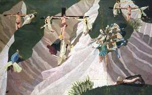 Stanley Spencer - Crucifixion