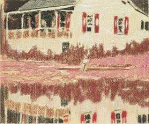 Peter Doig - Campement Forestia