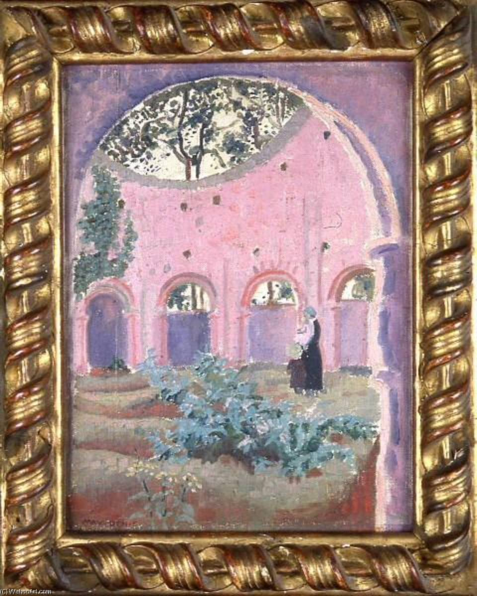 Le temple de lanleff de Denis Maurice (1870-1943, France) | Reproductions D'art Sur Toile | ArtsDot.com